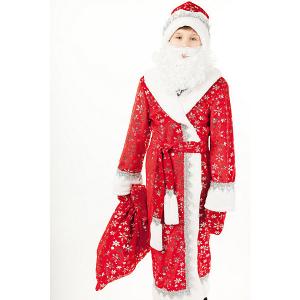 Карнавальный костюм Дед Мороз плюш 178-32-34