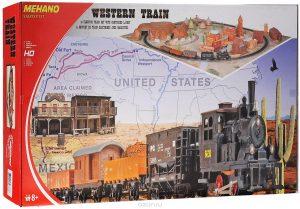 Железная дорога Mehano Western Train с ландшафтом T109 промо