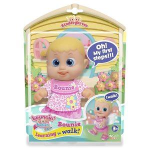 Кукла Bouncin Babies Бони шагающая 16 см 802001