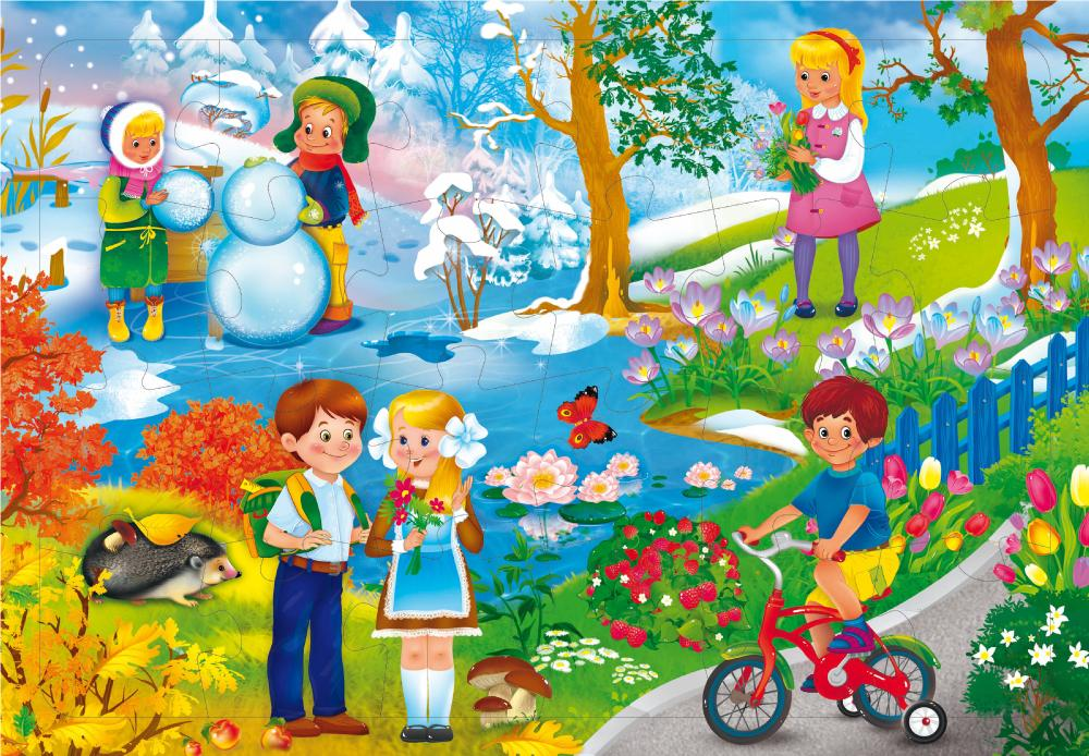 Картинки детский сад лето
