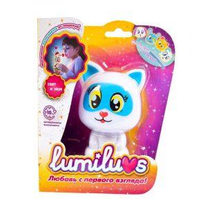 Ночник LUMILUVS Котенок Kitty голубой LB0001A5