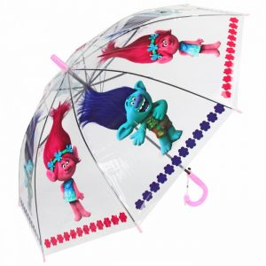 Зонтик детский Trolls 68-50 см 71055